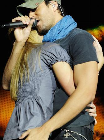 Enrique Iglesias at the Jingle Bell Ball