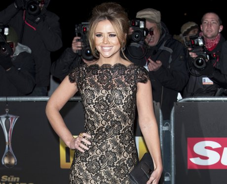 kimberley walsh at a night of heroes