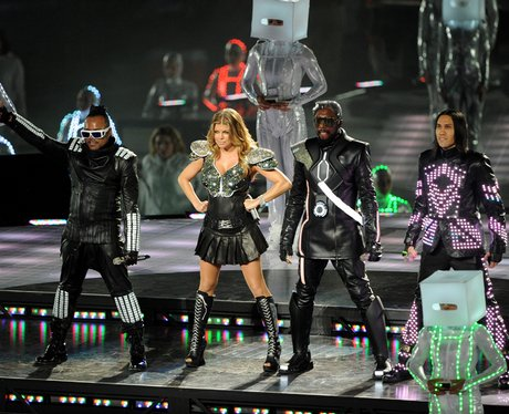 Black Eyed Peas at The Super Bowl XLV before they announce a hiatus
