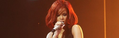 Rihanna live at the Brit Awards