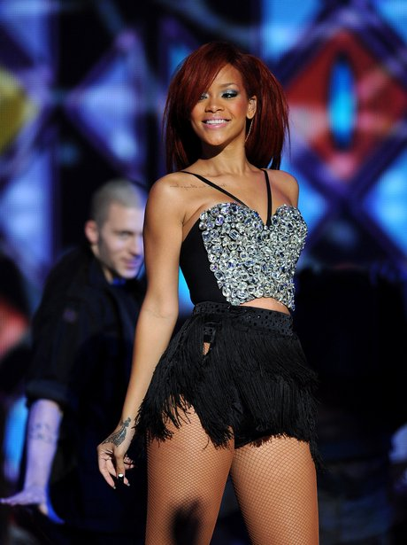Rihanna at The NBA All-Star Game