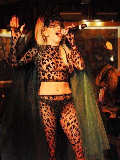 Lady Gaga at Annabel's