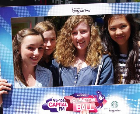 Capital FM Road Trip with Starbucks