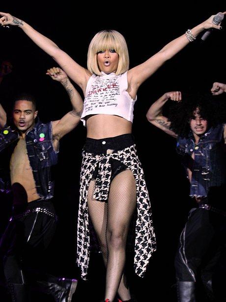 Rihanna live at the 2011 Jingle Bell Ball