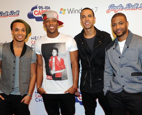 JLS arrive at the 2011 Jingle Bell Ball