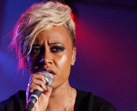 Emeli Sande performing