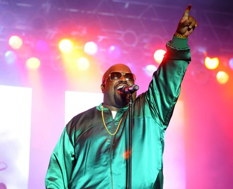 Cee lo Green performs on stage