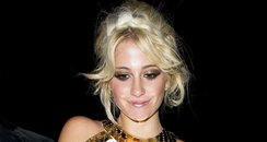 Pixie Lott leaving her 21st Birthday party