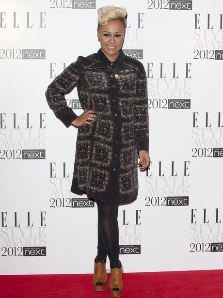 Emeli Sande at the ELLE style awards