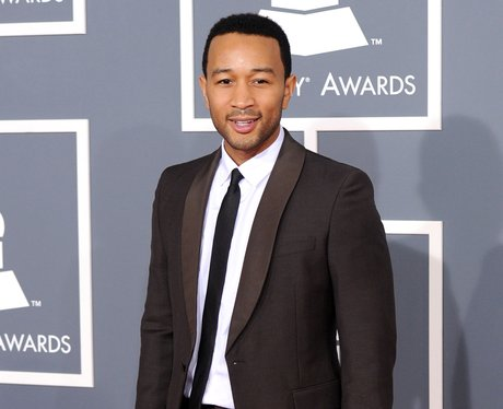 John Legend on the red carpet at the Grammy Awards