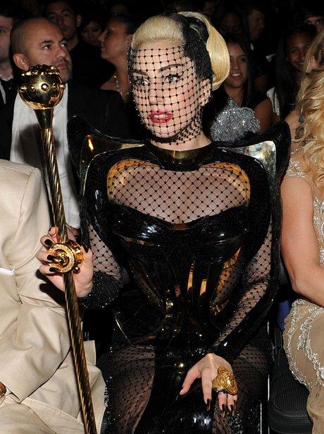 Lady Gaga at the Grammy Awards 2012