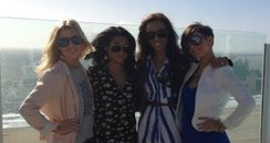 The Saturdays twitter