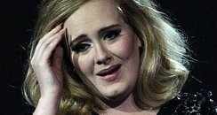 Adele collects the MasterCard British Album of the