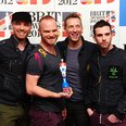 Coldplay at the BRIT Awards 2012