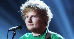 Ed Sheeran live at the BRIT Awards 2012