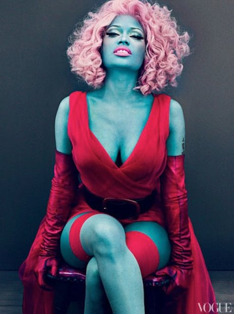 Nicki Minaj US Vogue