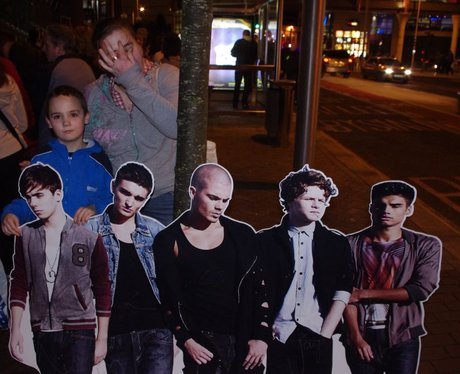 The Wanted in Cardiff