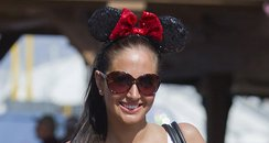 Tulisa at Walt Disney