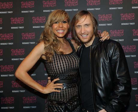 David Guetta arrives for a party in France