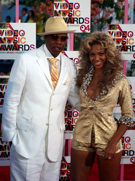 Beyonce And Jay Z At The Mtv Video Music Awards 2004