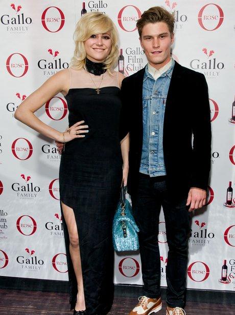 Pixie Lott and boyfriend Oliver Cheshire