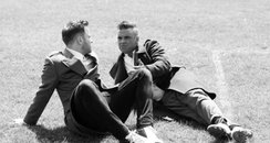 Olly Murs And Robbie Williams