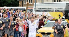ant payne olympic torch
