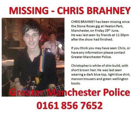 Chris Brahney search