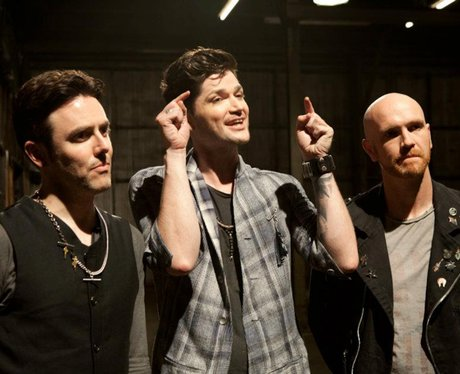 The Script's 'Hall Of Fame' video shoot