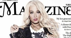 Tulisa Contostavlos in The Times Magazine from Twi