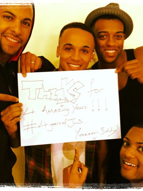 JLS thank their fans for the support.