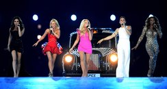 Spice Girls Performs at The Olympic Closing Ceremo
