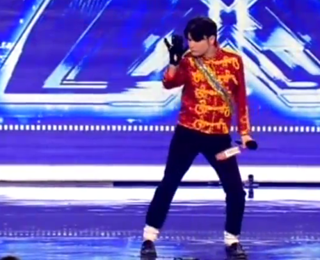 Michael Jackson audition on The X Factor