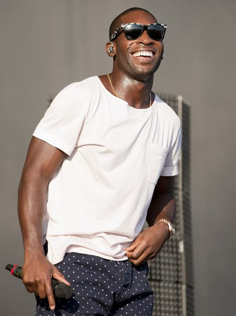 Tinie Tempah performs at V Festival 2012