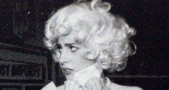 Lady Gaga tweets High School picture