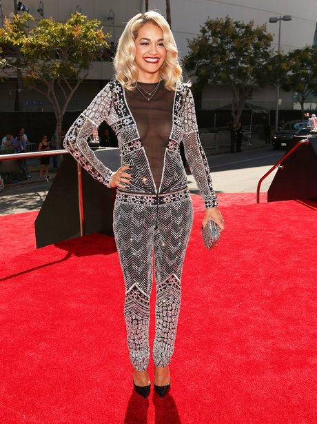Rita Ora at the MTV VMA's 2012.