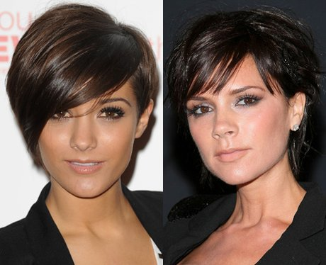 Victoria Beckham and Frankie Sandford lookalike