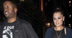 Jessie J With Justin Bieber's Bodyguard