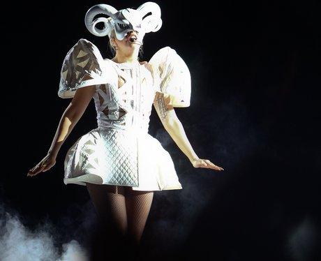 Lady Gaga's 'Born This Way Ball' tour.