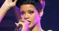 Rihanna live onstage
