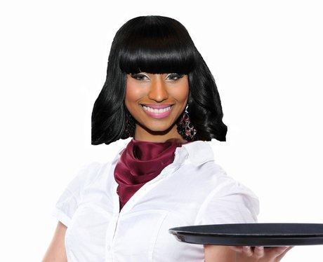 Nicki Minaj Waitress