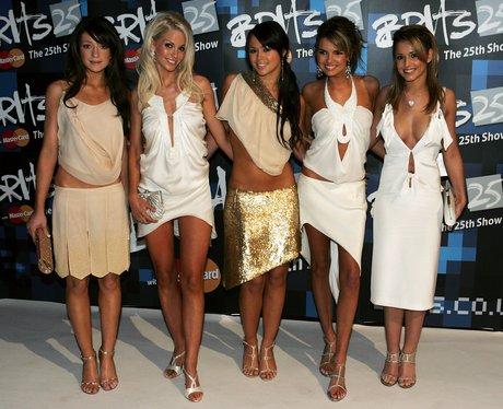 Girls Aloud BRIT Awards 2005