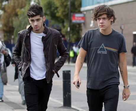 Harry Styles and Zayn Malik in London