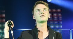 Conor Maynard live on stage