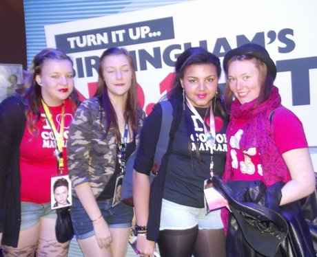 Conor Maynard Fans at HMV Institute