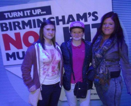 Conor Maynard Fans at HMV Institute