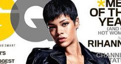 Rihanna poses naked for GQ Magaizne 2012