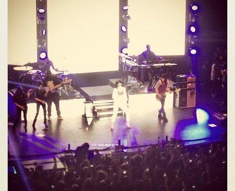 Lawson attends the Rihanna secret gig in London