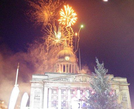 Nottingham Xmas Lights