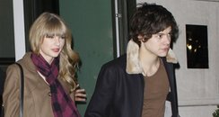 Harry Styles and Taylor Swift out for dinner
